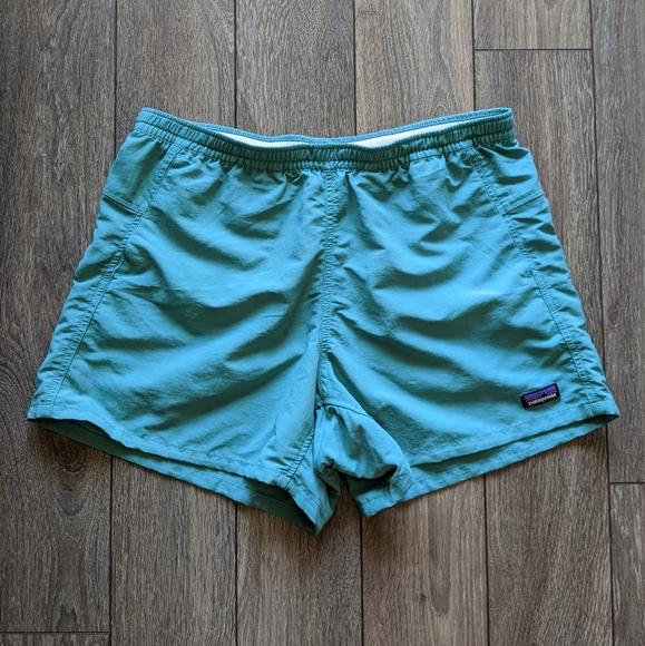 Patagonia Teal Classic Baggies Shorts - Medium